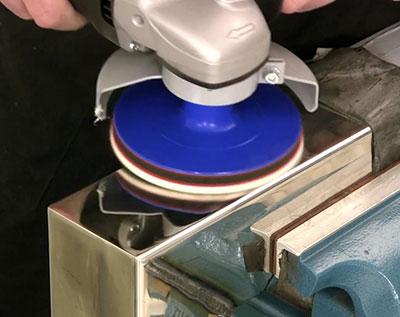 Полировка нержавеющей стали