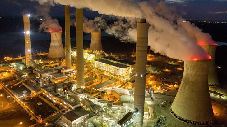 как используется нержавеющая сталь для угольной электростанции