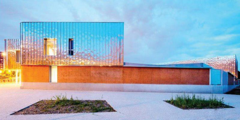 нержавеющая сталь в современной архитектуре