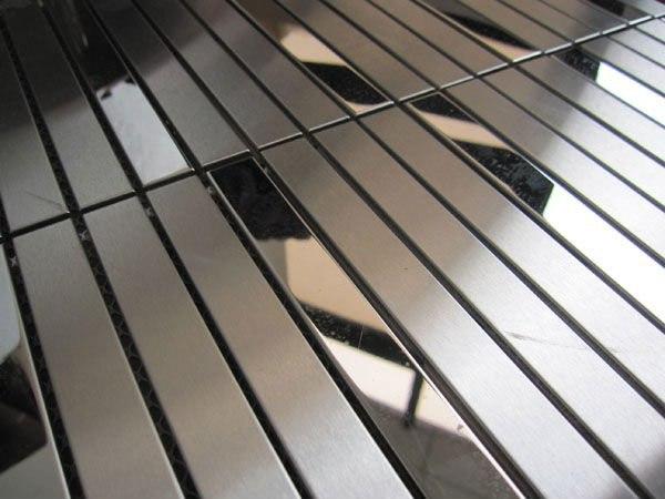 поверхность нержавеющей стали