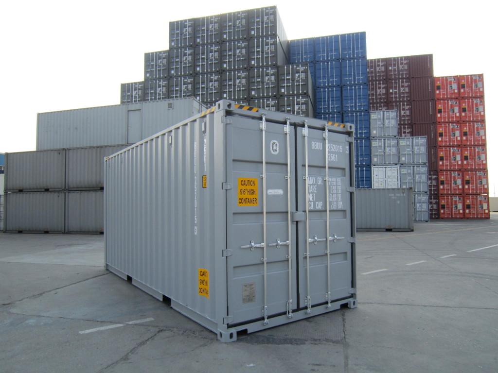 грузовой контейнер из нержавейки