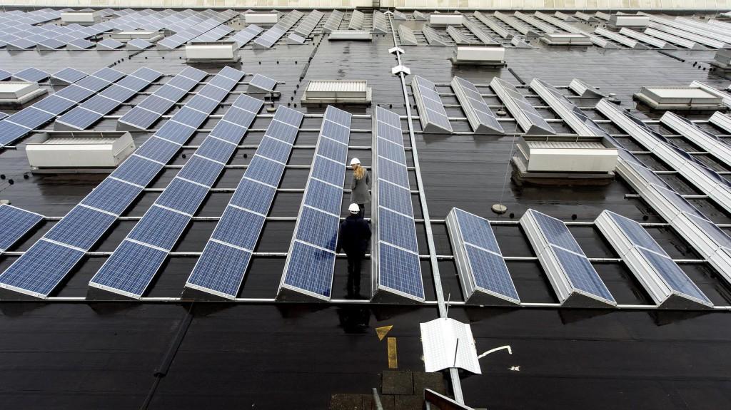 как используется нержавеющая сталь и солнечная энергия в зданиях