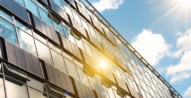 нержавеющая сталь и солнечная энергия в зданиях