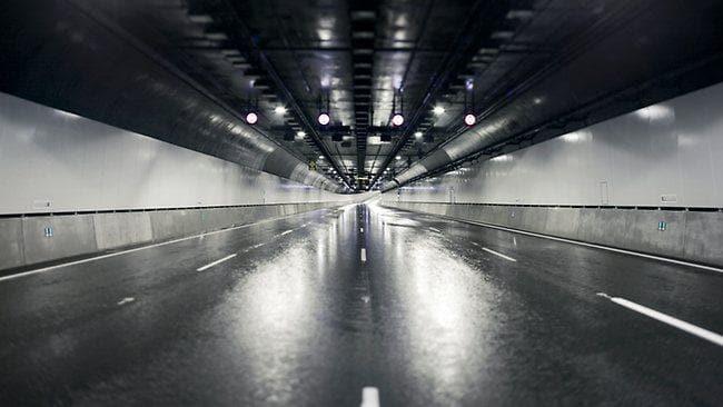 нержавеющая сталь в автодорожных туннелях